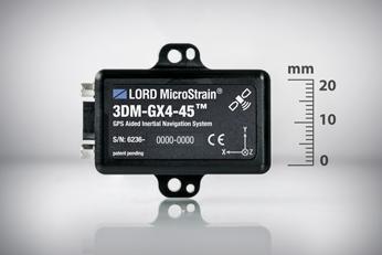 MicroStrain 3DM-GX4-45 GPS aided AHRS